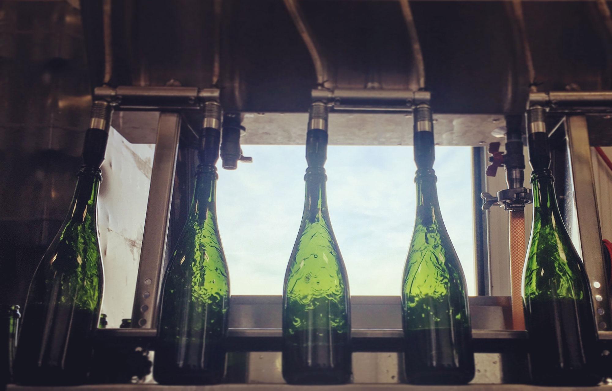 tirage bottling